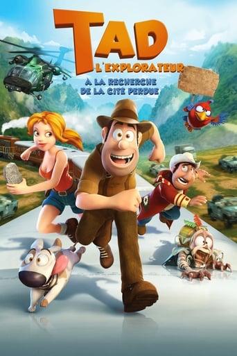Poster of Tad l'explorateur : À la recherche de la cité perdue