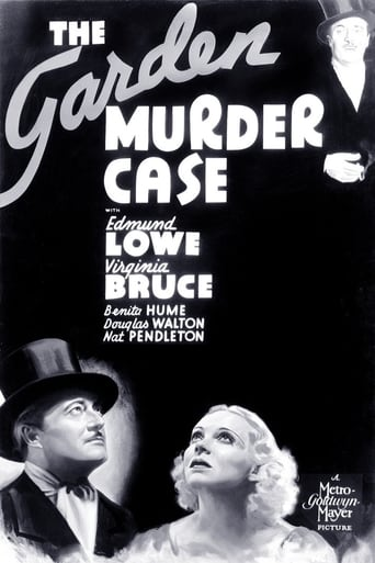 Poster of The Garden Murder Case