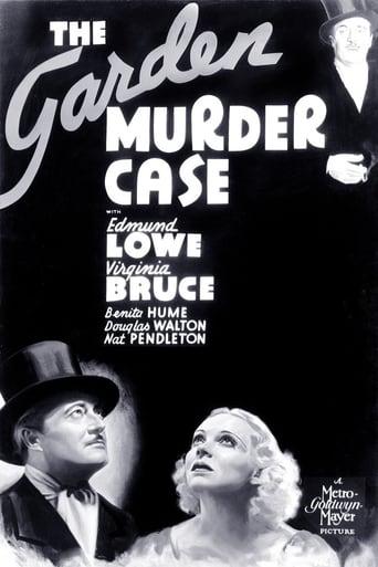 Poster of The Garden Murder Case