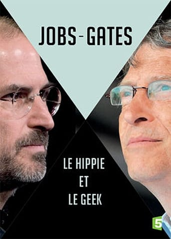 Poster of Jobs vs. Gates: The Hippie and the Nerd