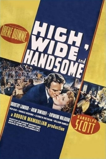 Poster of High, Wide and Handsome