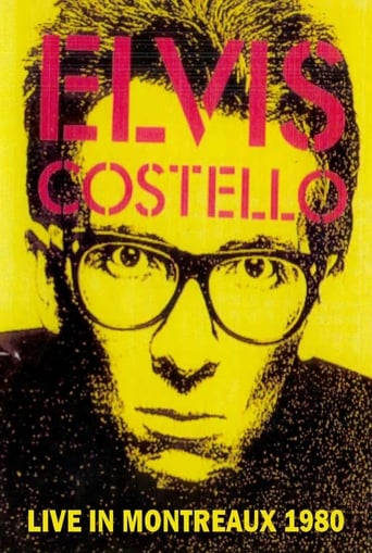 Poster of Elvis Costello & The Attractions Live in Montreaux 1980