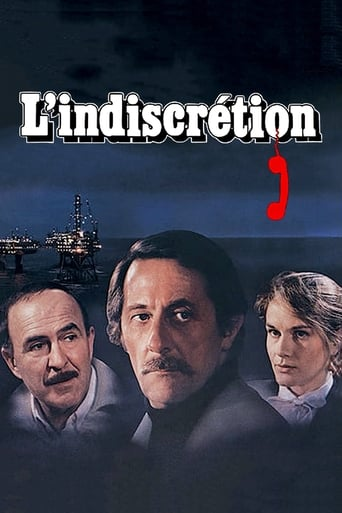 Poster of L'indiscrétion