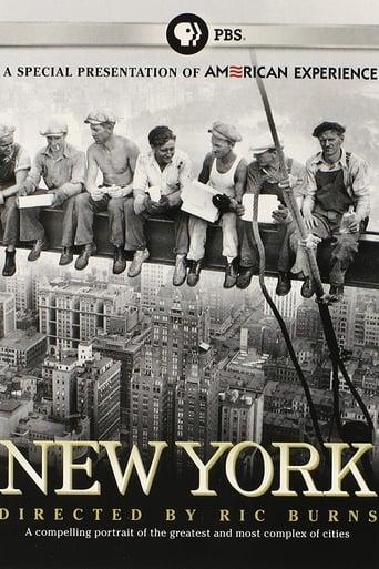 Poster of New York: A Documentary Film