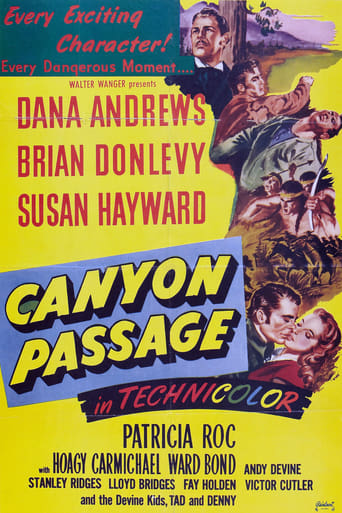 Canyon Passage (1946) - poster