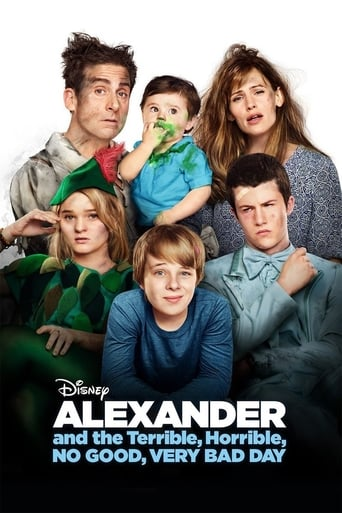 Poster of Alexander and the Terrible, Horrible, No Good, Very Bad Day