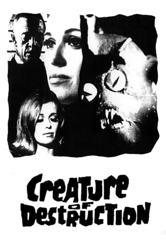 Poster of Creature of Destruction
