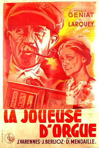 Poster of La joueuse d'orgue