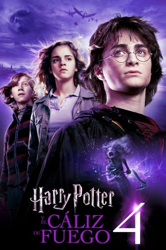 Poster of Harry Potter y el Cáliz de Fuego