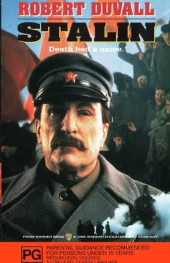 Official movie poster for Stalin (1992)