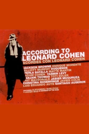 Poster of According to Leonard Cohen