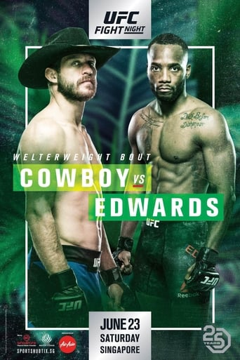Poster of UFC Fight Night 132: Cowboy vs. Edwards