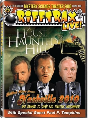 Poster of RiffTrax Live: House on Haunted Hill
