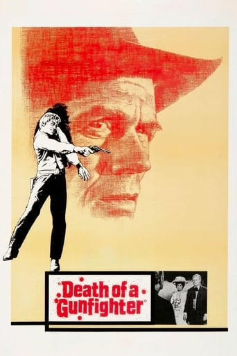 Poster of Death of a Gunfighter