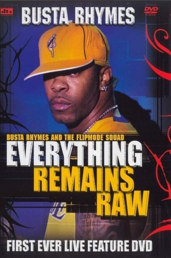 Poster of Busta Rhymes - Everything Remains Raw
