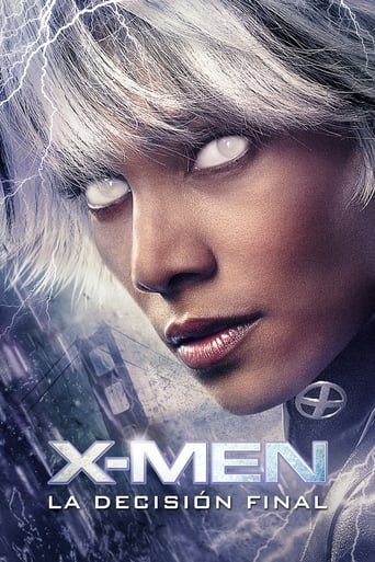 Poster of X-Men: La decisión final