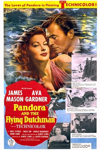 Poster of Pandora and the Flying Dutchman