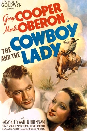 Poster of The Cowboy and the Lady