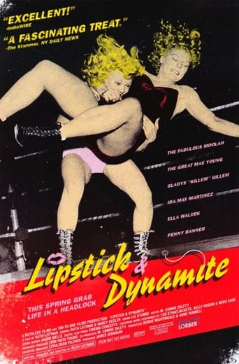 Poster of Lipstick & Dynamite, Piss & Vinegar: The First Ladies of Wrestling