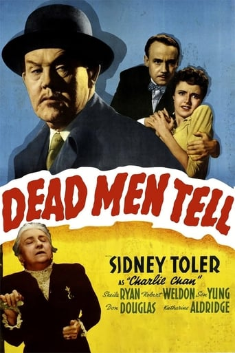 Poster of Charlie Chan in Dead Men Tell