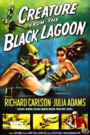 voir film L'Etrange créature du lac noir  (The Creature from the Black Lagoon) streaming vf