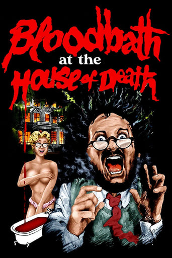 Poster of Bloodbath at the House of Death