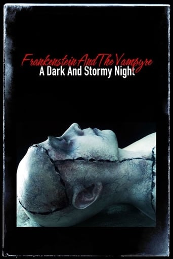 Poster of Frankenstein and the Vampyre: A Dark and Stormy Night