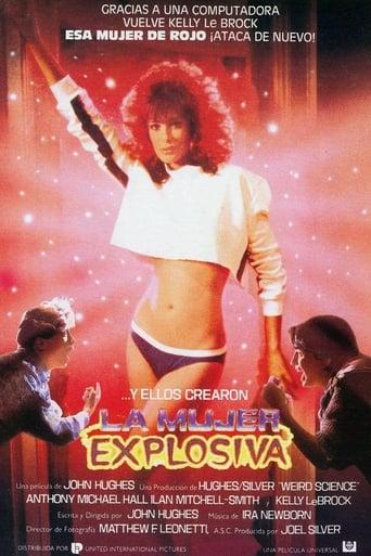 Poster of La mujer explosiva