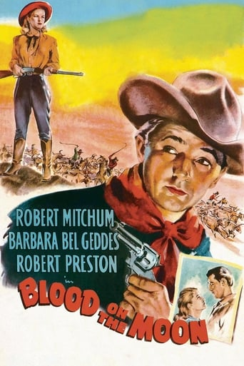Poster of Blood on the Moon