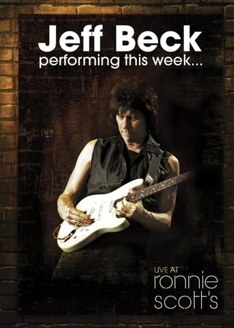 Poster of Jeff Beck: Performing This Week... Live at Ronnie Scott's