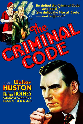 Poster of The Criminal Code