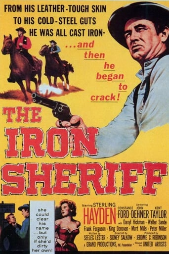 Poster of The Iron Sheriff