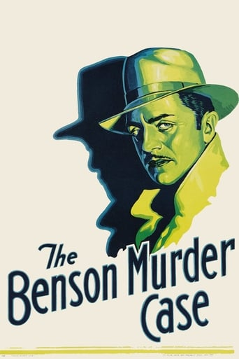 Poster of The Benson Murder Case