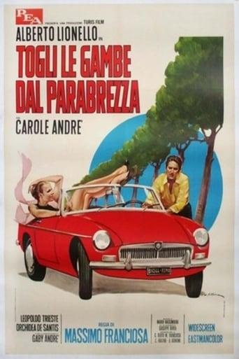 Poster of Togli le gambe dal parabrezza