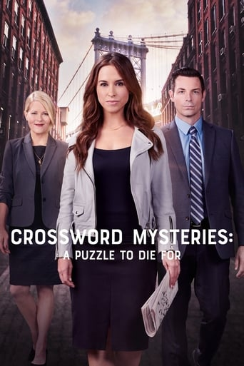 Poster of Crossword Mysteries: A Puzzle to Die For