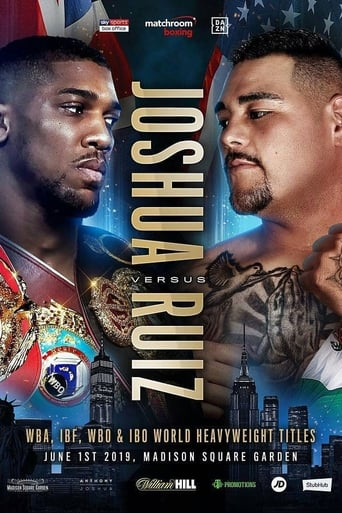 Poster of Anthony Joshua vs Andy Ruiz Jr.