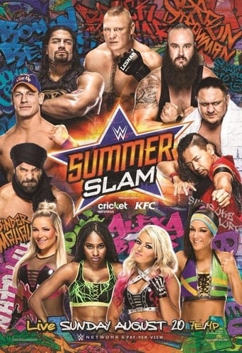 Poster of WWE SummerSlam 2017