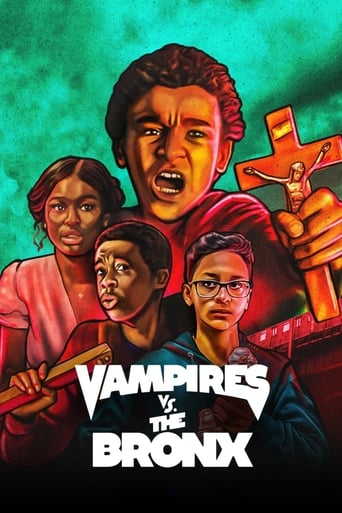 Vampires vs. the Bronx Poster