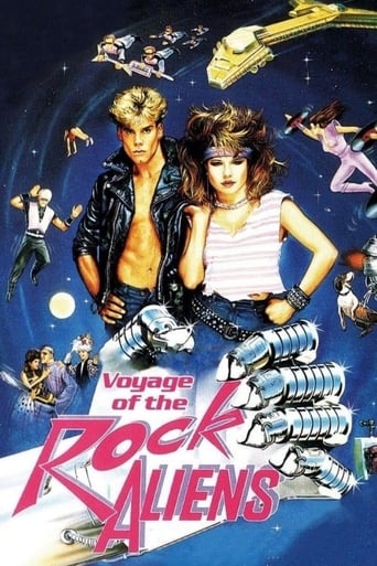 poster Voyage of the Rock Aliens