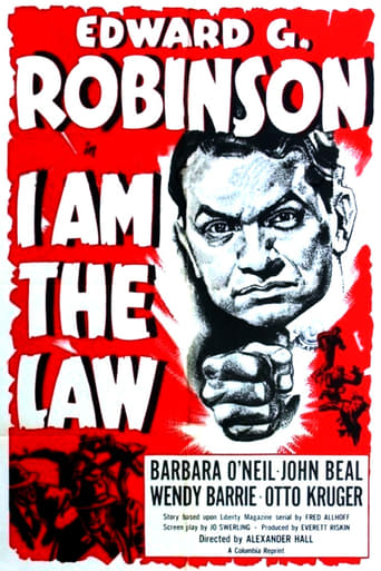 Poster of I Am the Law