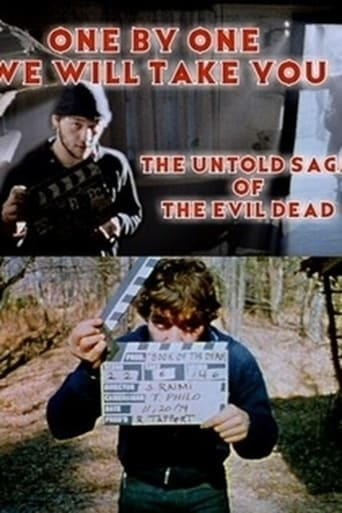 Poster of One by One We Will Take You: The Untold Saga of The Evil Dead