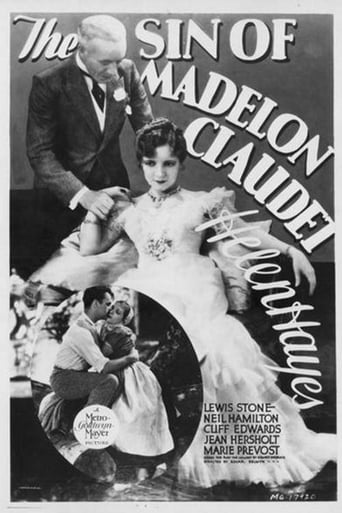 Poster of The Sin of Madelon Claudet