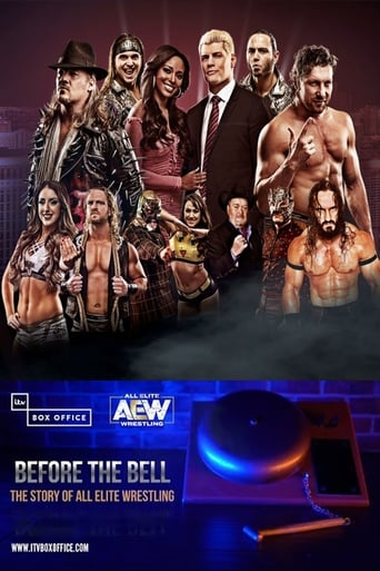 Poster of Before The Bell: The Story Of All Elite Wrestling