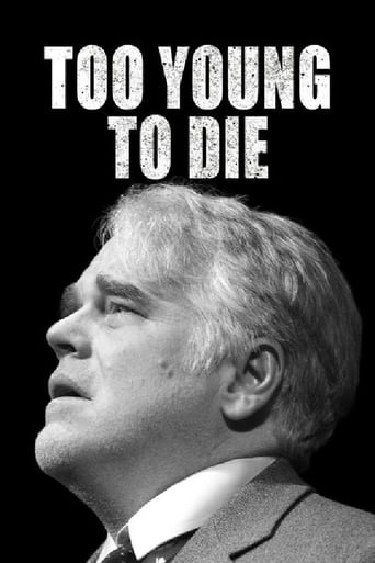 Poster of Too Young to Die