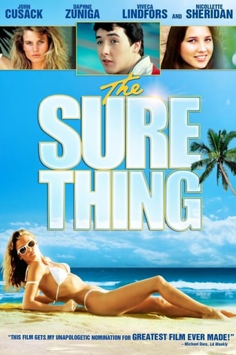 Poster of The Sure Thing