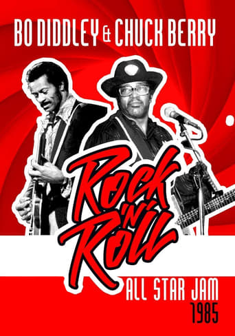 Poster of Chuck Berry & Bo Diddley: Rock 'n' Roll All Star Jam