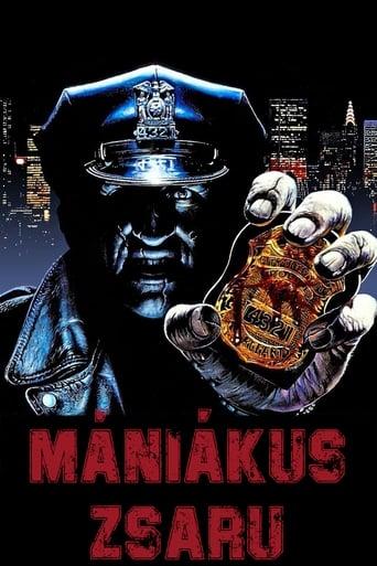 Poster of Mániákus zsaru