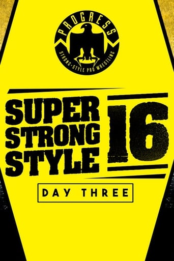 Poster of PROGRESS Chapter 68: Super Strong Style 16 - Day 3