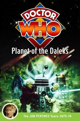 Poster of Doctor Who: Planet of the Daleks