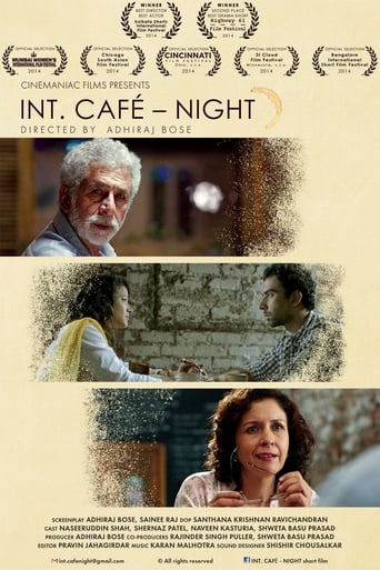 Poster of INT. CAFÉ – NIGHT